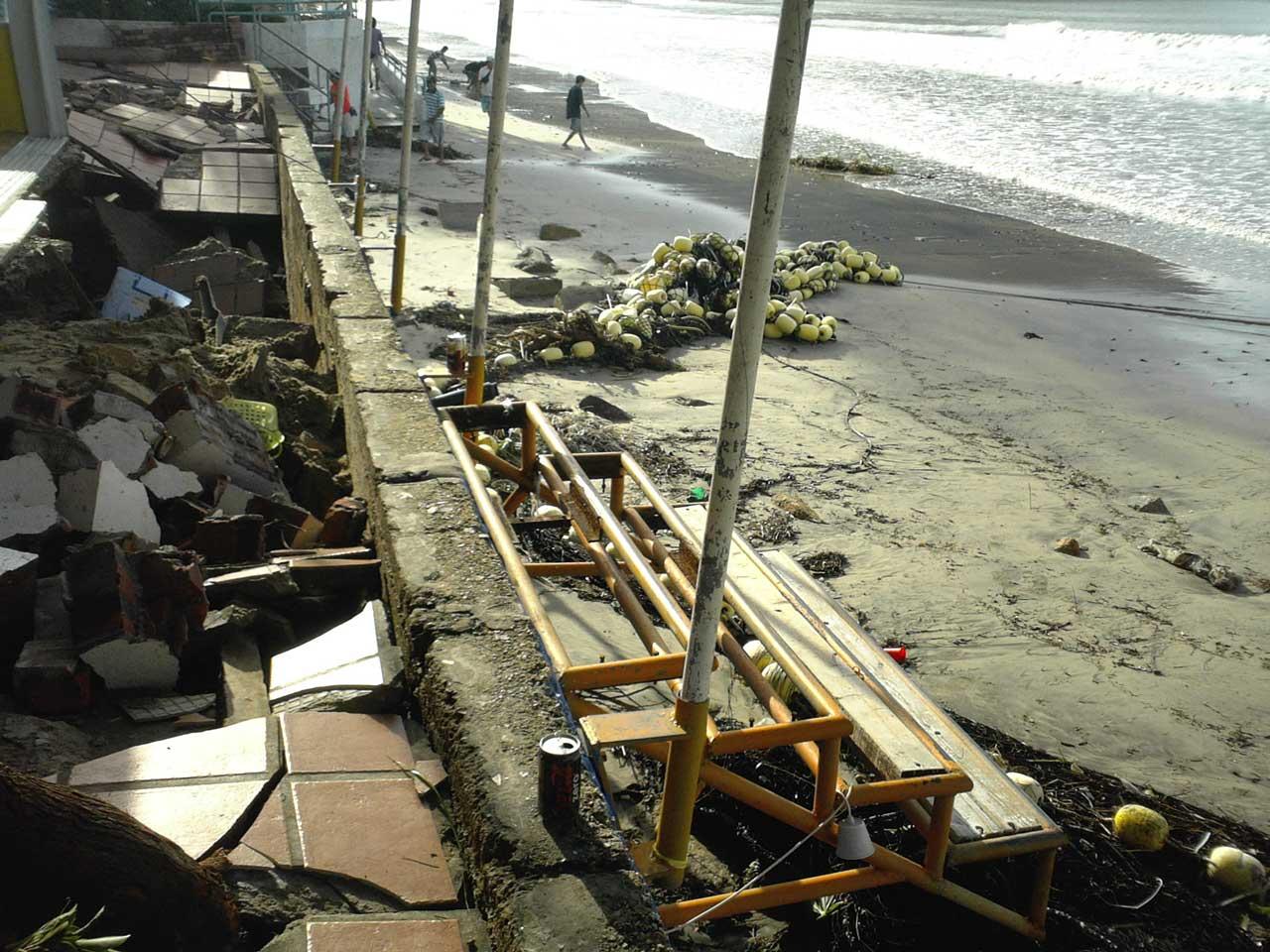Typhoon Hagiput - South Lantau - Hong Kong 23 September 2008