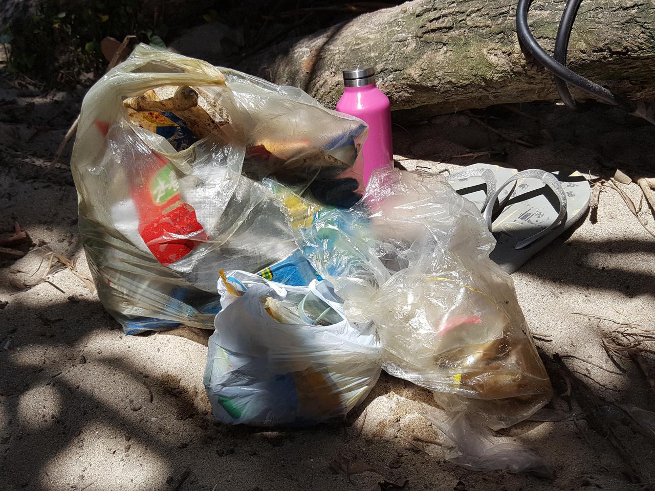 Plastic fishing