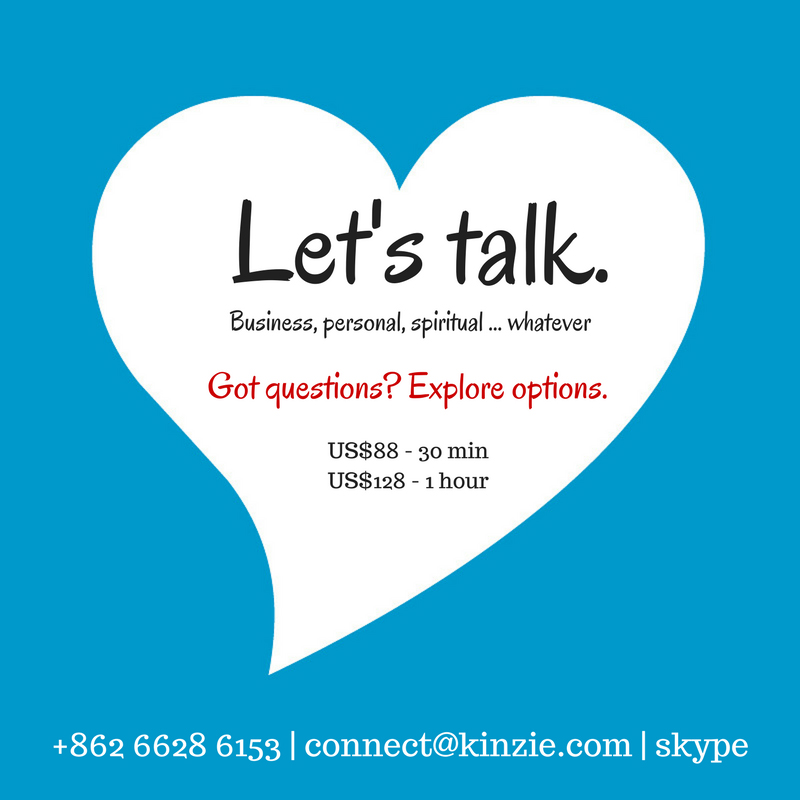 Lets talk ...